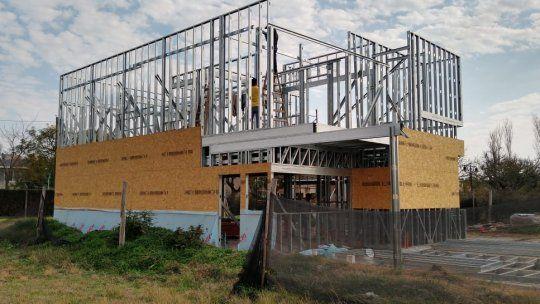 Disser desde hace cinco años está especializado en la construcción con steel frame y posee un centro de capacitación.