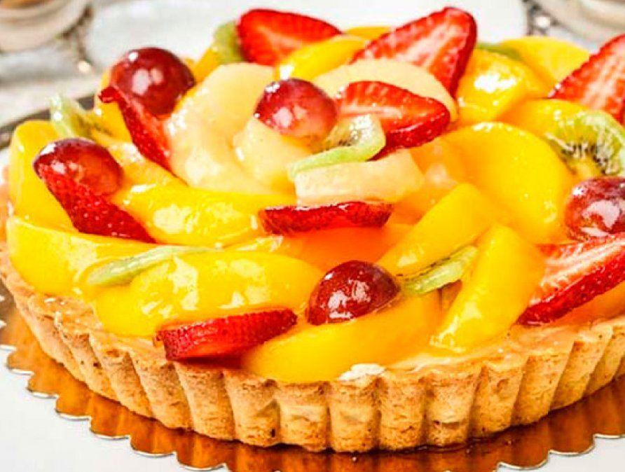 La tarta de frutas es una de las recetas preferidas por todas las familias