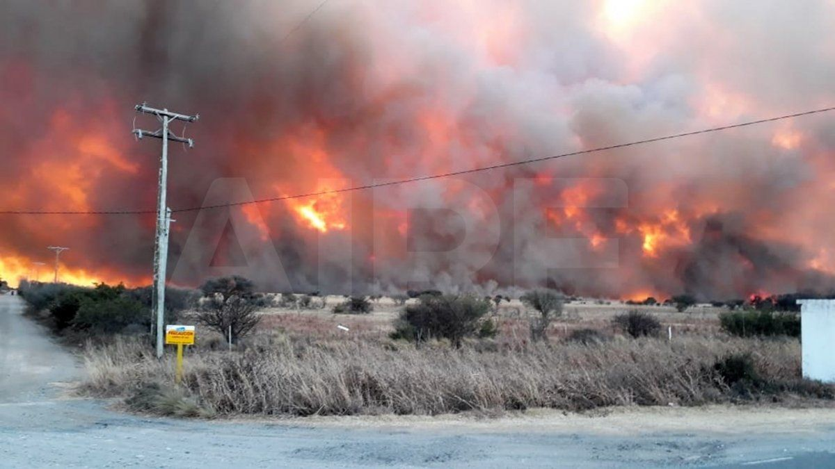 El 95% de los incendios son provocados por el humano