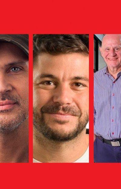 Ciro Seisas, Lisandro Cavatorta, Juan Monteverde, Miguel Tessandori y Ana Laura Martínez, los protagonistas de la interna para el Concejo en Rosario.