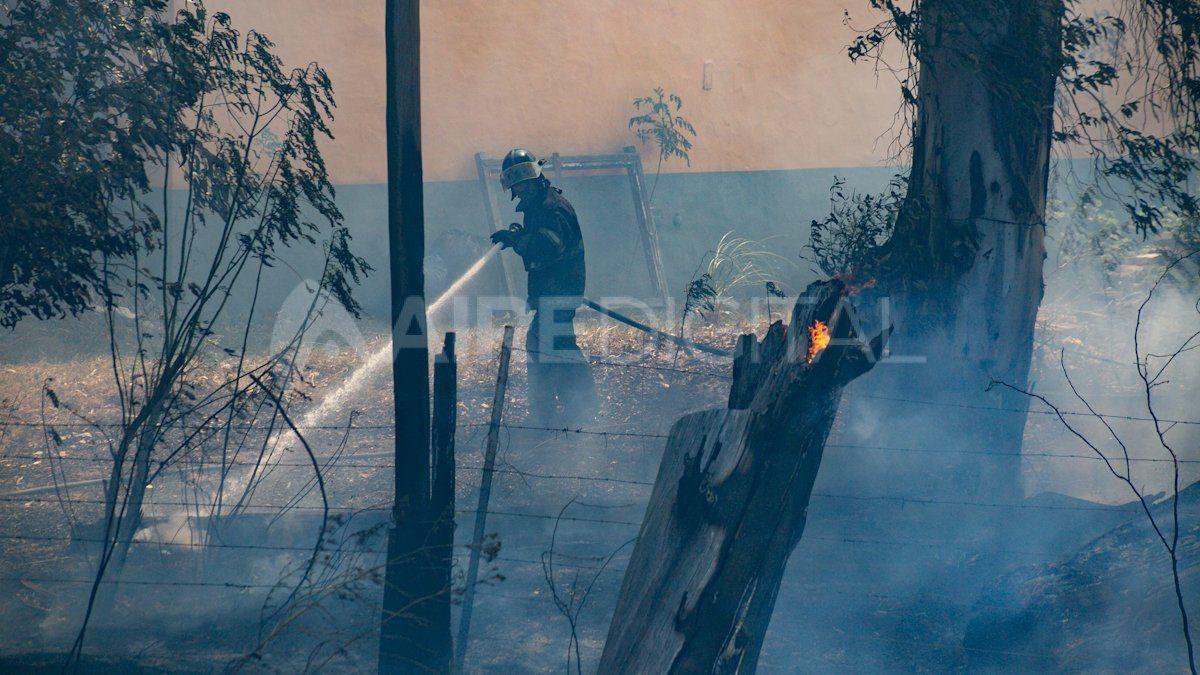 Los trabajadores que combaten los incendios forestales en más de 12 provincias argentinas recibirán un bono de $10.000.