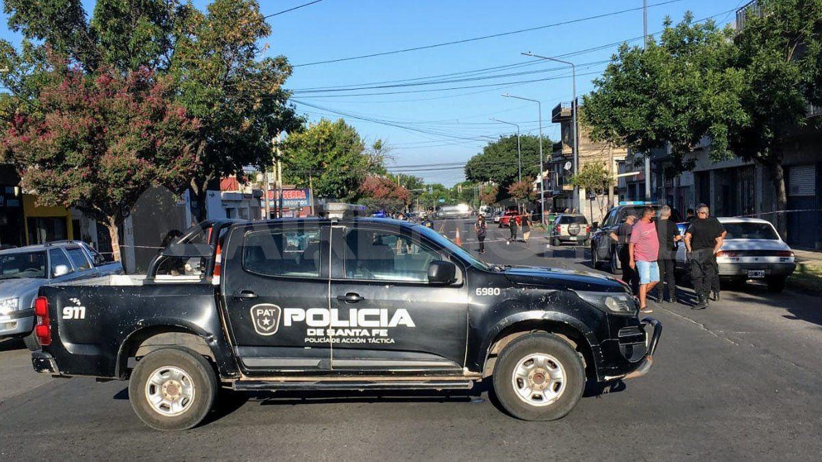 El hecho ocurrió este jueves por la tarde en avenida Arijón y Corrientes