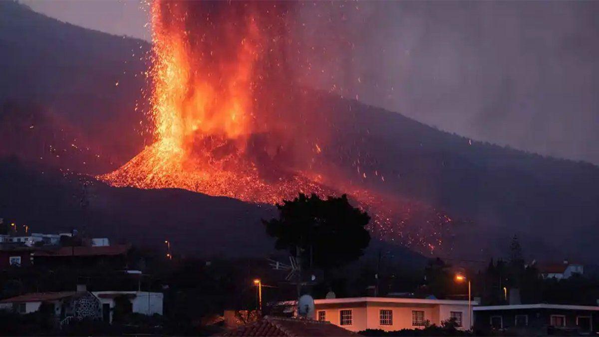 La actividad del volcán Cumbre Vieja se redujo notablemente en las últimas horas.