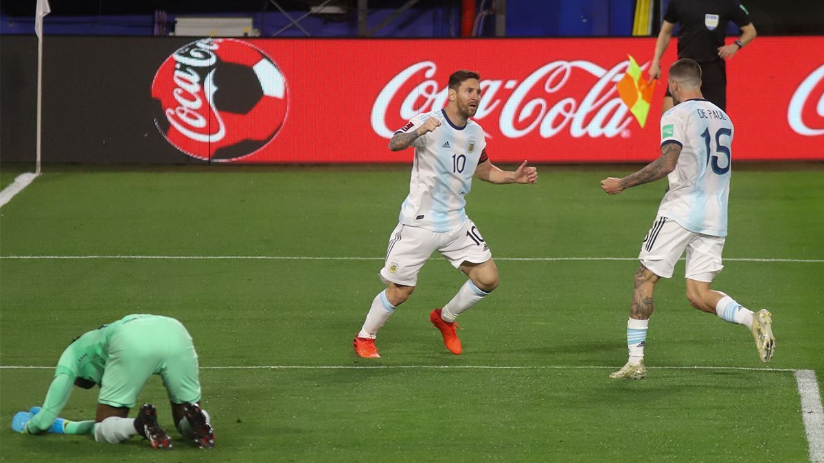 Por Lionel Messi