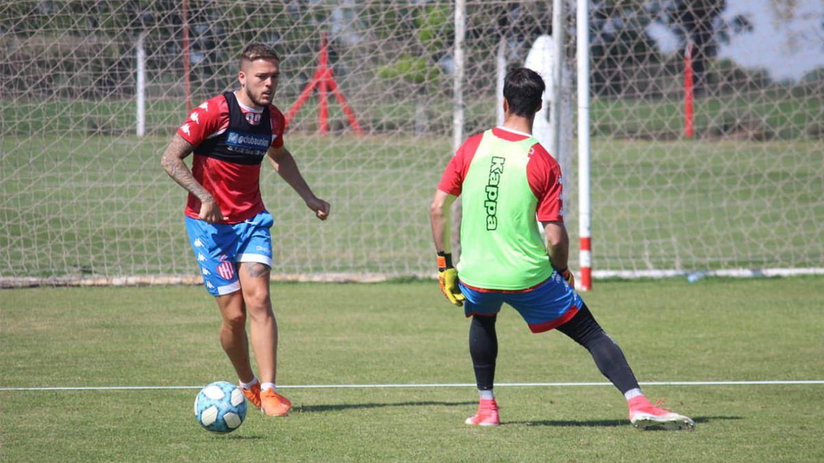 Franco Troyansky tiene muchas posibilidades de irse de Unión para jugar en el exterior.