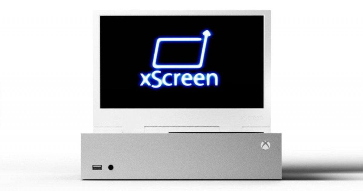Xbox Series S tendrá una pantalla adherible para convertirla en una consola portátil.