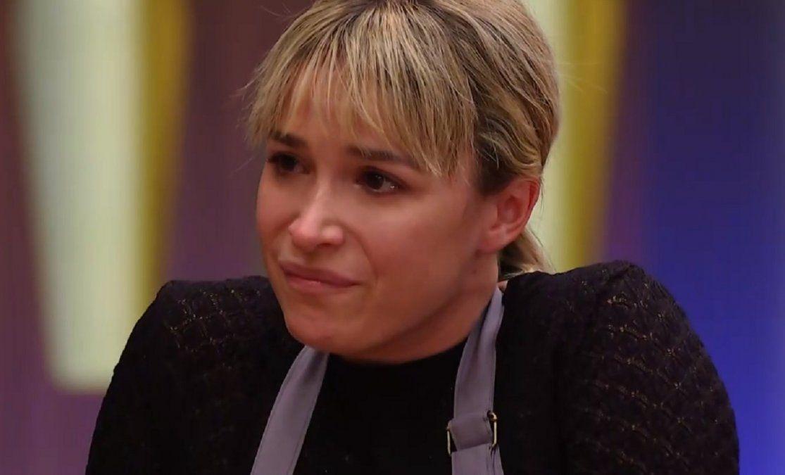 Sofía Pachano quedó afuera de la competencia culpa de un flan de dulce de leche