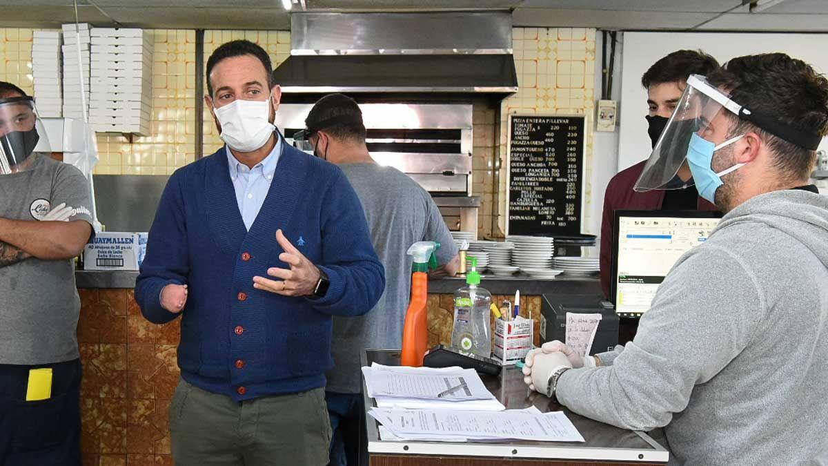 Se fiscalizaron más de un centenar de locales gastronómicos en las ciudades de Rosario y Santa Fe