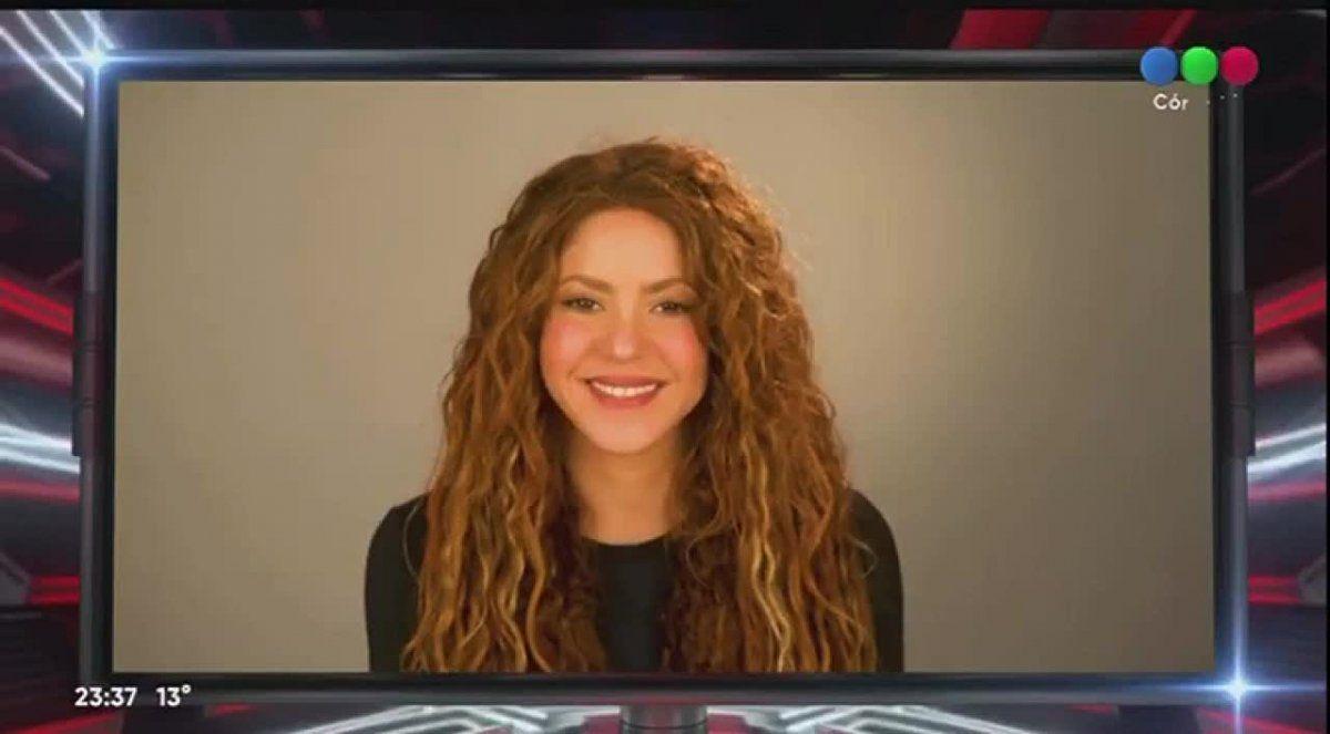 Shakira le mandó un mensaje a los cuatro protagonistas de la final de La Voz Argentina