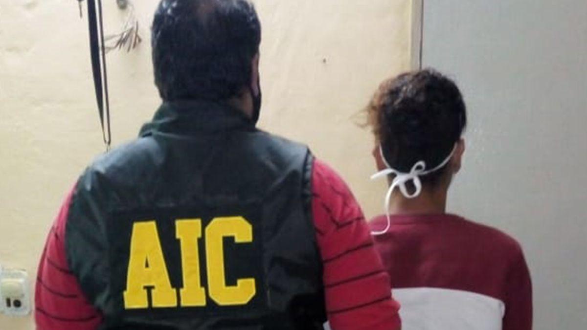 """El detenido quedó alojado hasta la celebración de su audiencia imputativa por el delito de """"Extorsión""""."""