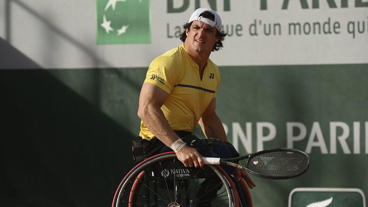 Gustavo Fernández cayó ante Hewett y quedó eliminado de Roland Garros.