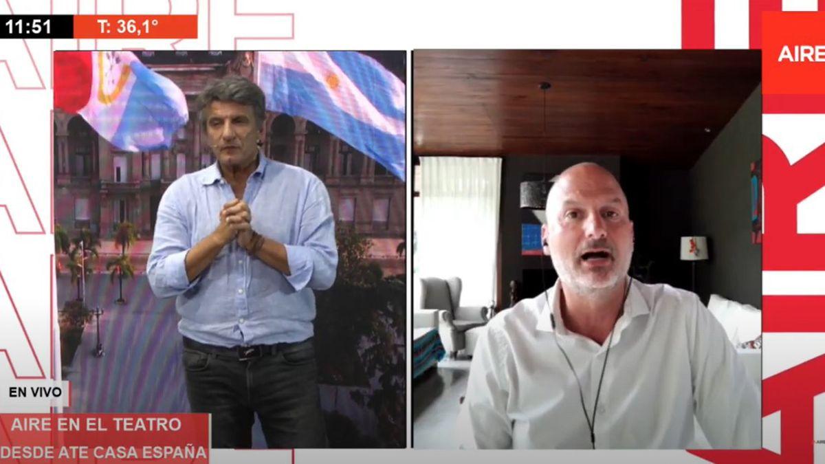 Andrés Repetto analizó la actualidad de las elecciones en Estados Unidos este martes en Aire de Santa Fe.