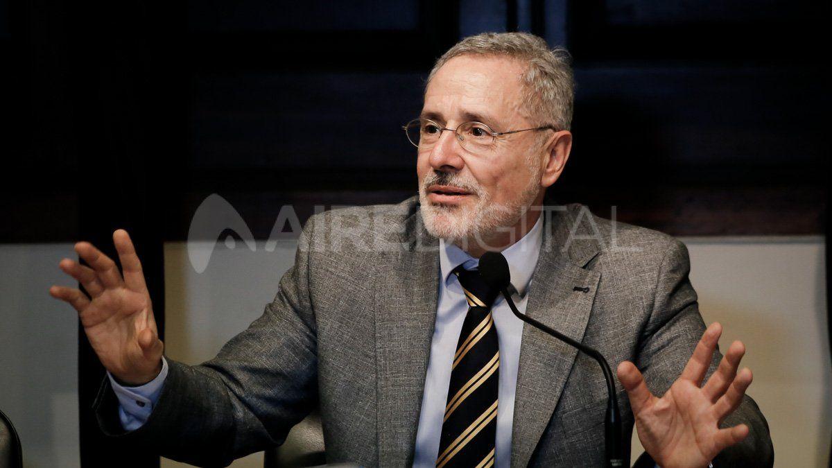 Marcelo Sain fue el ministro estrella durante los primeros 14 meses de la gestión de Omar Perotti.