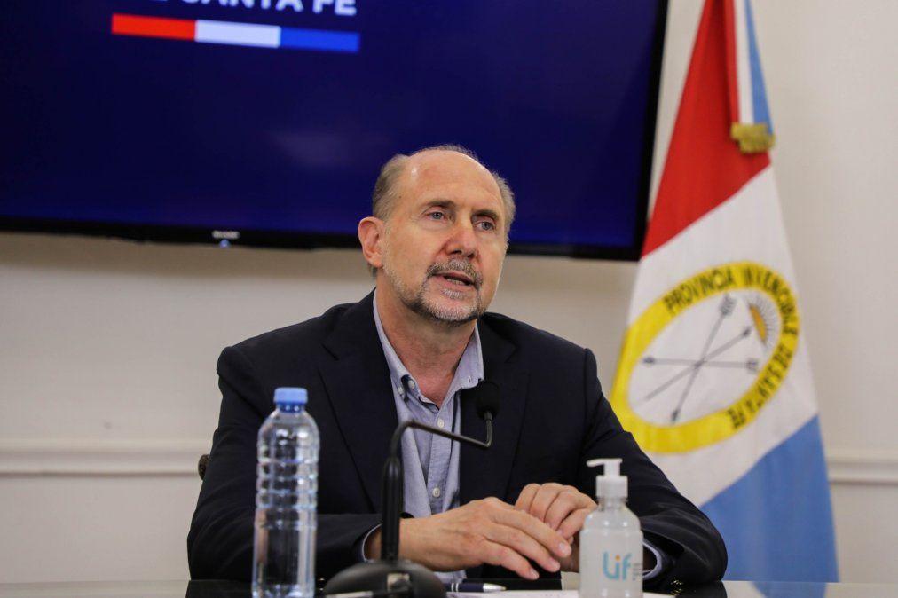 """""""Hacemos Santa Fe"""" se identifica con el gobernador de la provincia Omar Perotti"""