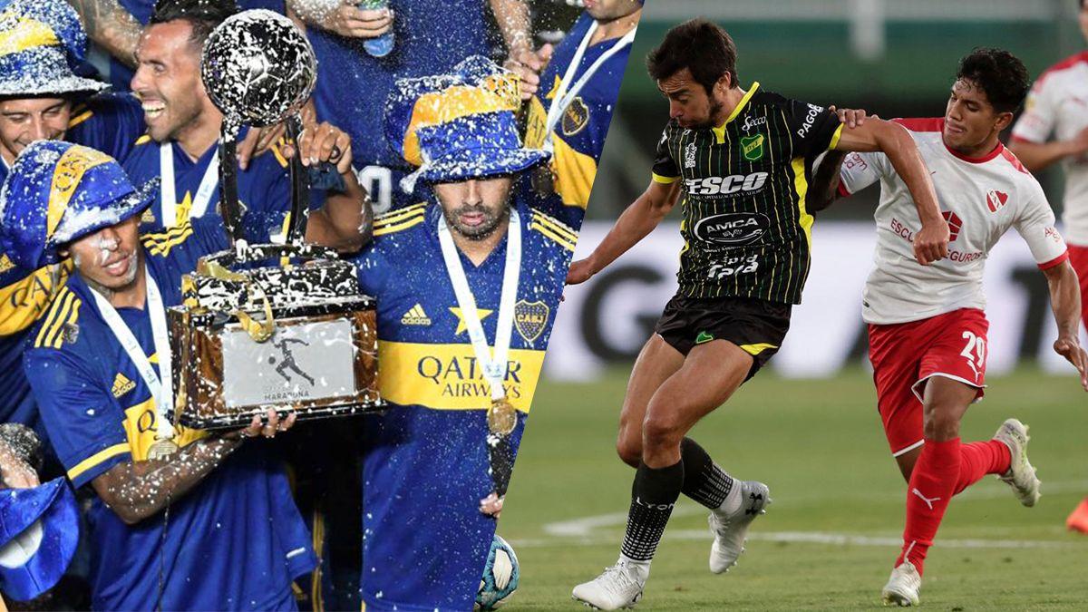 Por el título de Boca en la Copa Diego Maradona