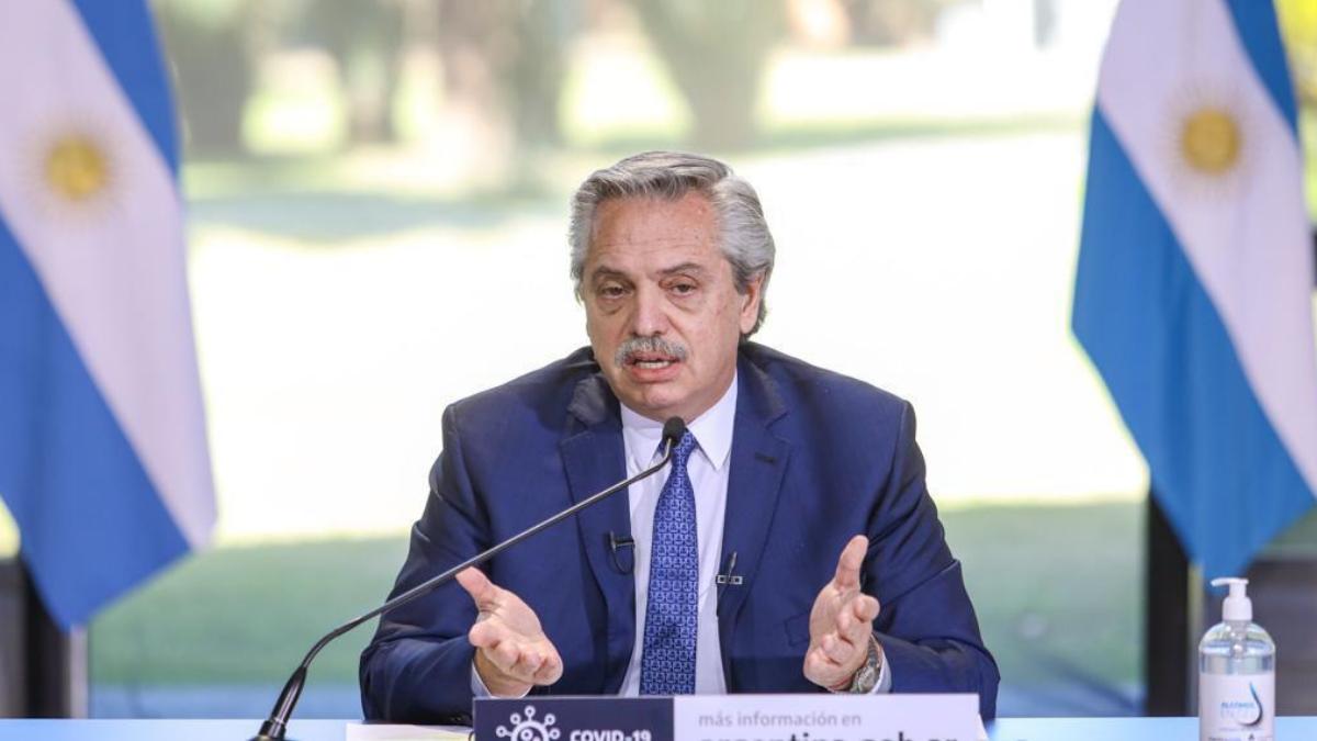 Alberto Fernández se refirió a los desalojos del jueves.