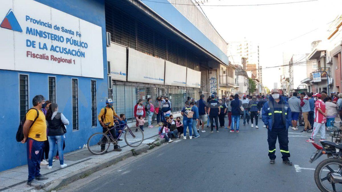 Carreros se manifiestan frente al MPA