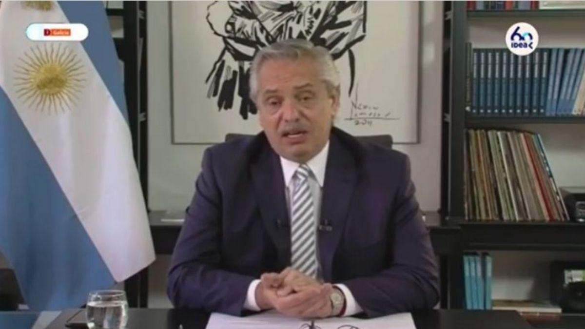 Presidente de Idea agradeció la presencia de Alberto Fernández y pidió más diálogo