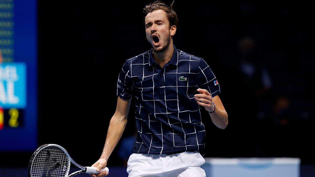Daniil Medvedev se impuso a Dominic Thiem y se coronó campeón del Masters de Londres.
