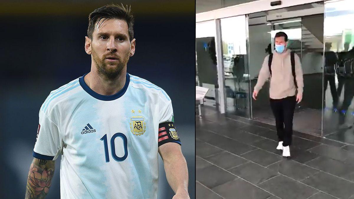 Lionel Messi terminó su participación con la Selección Argentina y ya está en España para reintegrarse al Barcelona.