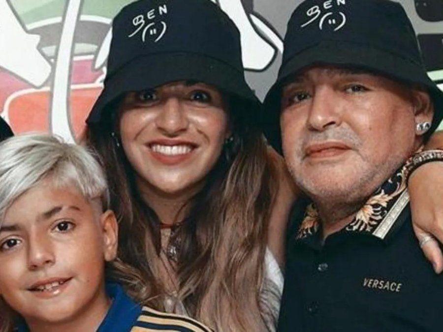 Gianinna Maradona apoya la marcha del 10 de marzo en busca de justicia por la muerte de su padre.