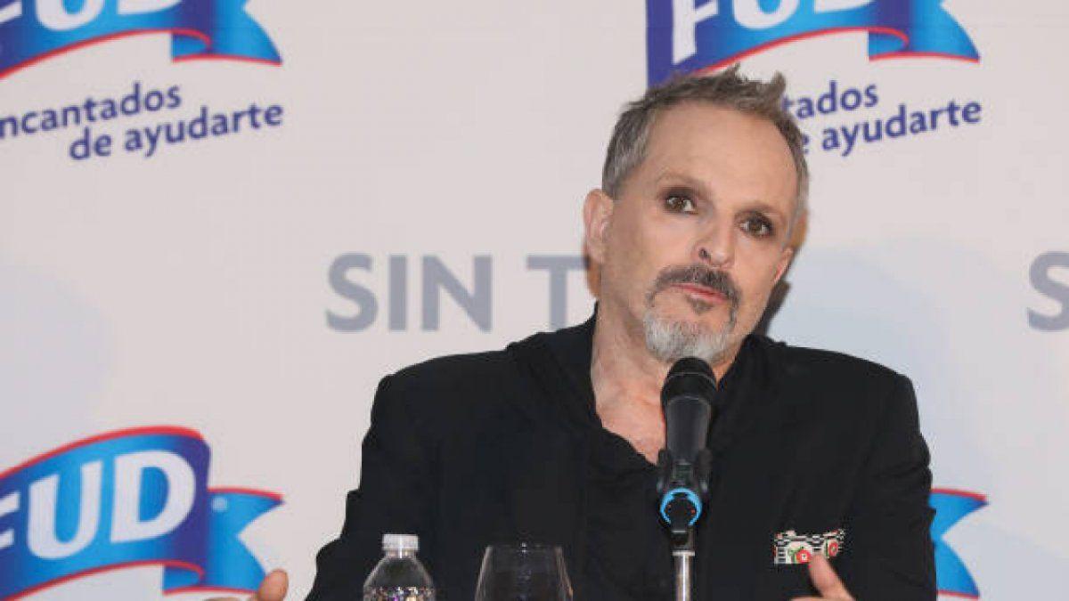 Miguel Bosé reapareció en un acto que se celebró en Cataluña