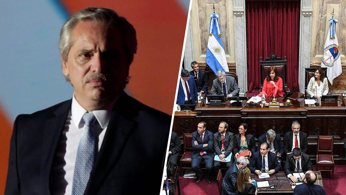 Fernández intenta hacer equilibrió entre las distintas posturas de la coalición gobernante.