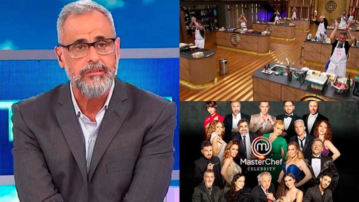 Jorge Rial contra MasterChef Celebrity: ¡Que cocinen con los barbijos puestos!