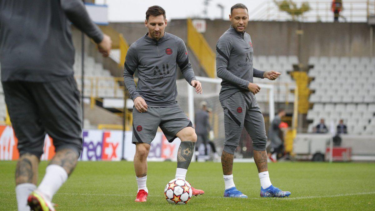 Lionel Messi se mostró expectante con el debut en Champions League con el Paris Saint-Germain.