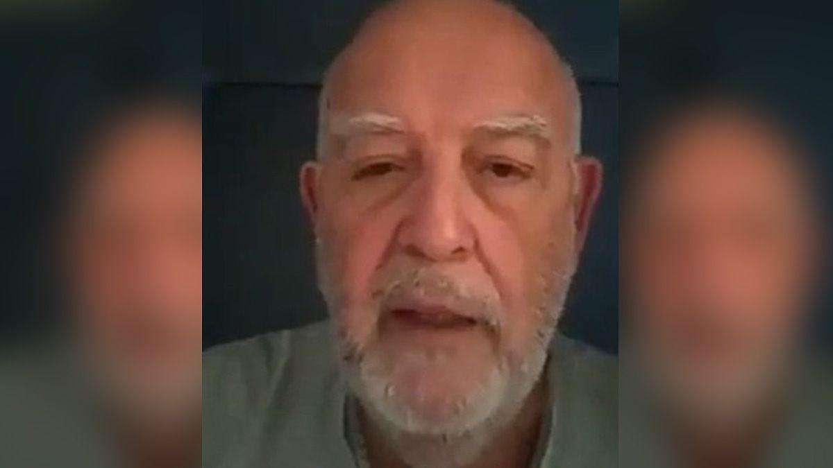 El doctor Marcelo Lemus hizo su descargo en un video viral.