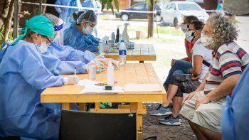 Coronavirus: la Provincia desplegó el Aborda Salud  en barrio Guadalupe