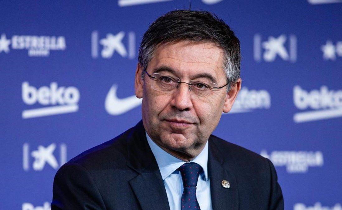 Josep Maróia Bartomeu tomó la decisión de dar un paso al costado como presidente del Barcelona.