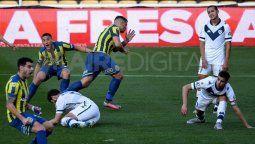 Rosario Central derrotó 1-0 a Vélez con un gol sobre el final del partido, obra de Emiliano Vecchio, y sumó tres puntos en el Torneo de la Liga Profesional.