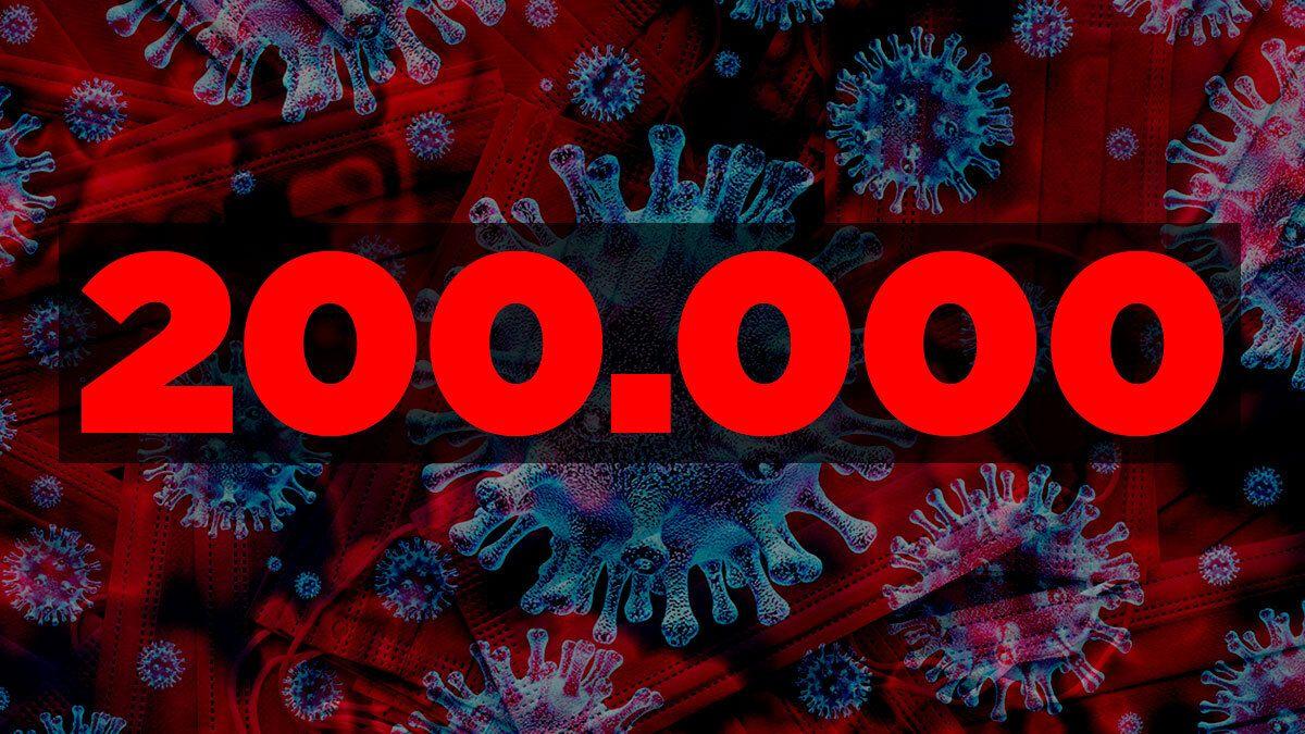 Los 200.000 casos de coronavirus es ocho veces el número de contagios que estimaba el Gobierno tener a partir del inicio de la pandemia.