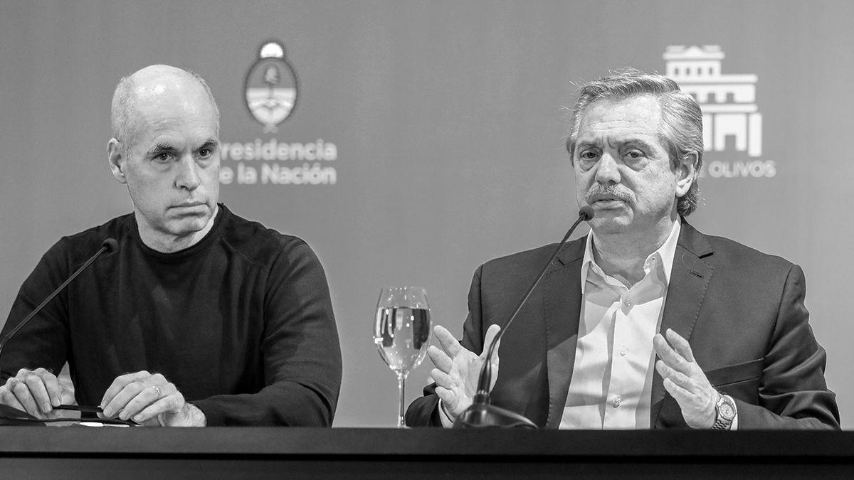 El vínculo entre Rodríguez Larreta y Fernández se resquebrajó desde la protesta de la policía bonaerense.