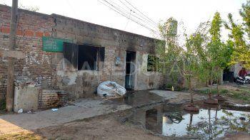 El homicidio ocurrió en medio de un conflicto entre un grupo de personas en frente de una casa que este jueves amaneció quemada.