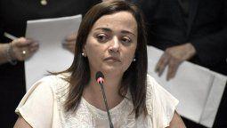 Cecilia Moreau, diputada del Frente de Todos y presidenta de la Comisión de Legislación General.