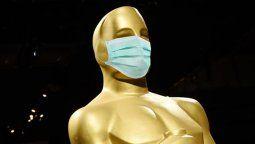 Los nominados a premios y otros asistentes no tendrán que cubrirse la nariz y la boca en los Oscar mientras se encuentren delante de las cámaras.