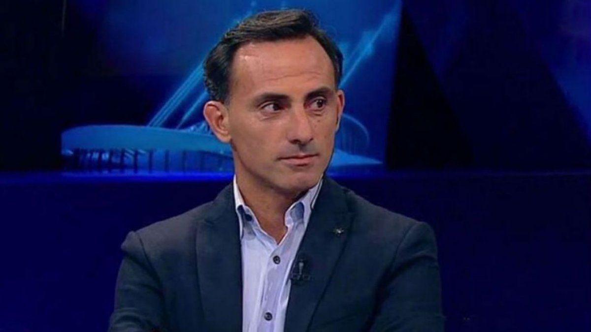 Diego Latorre fue insultado y amenazado tras la transmisión del partido de River