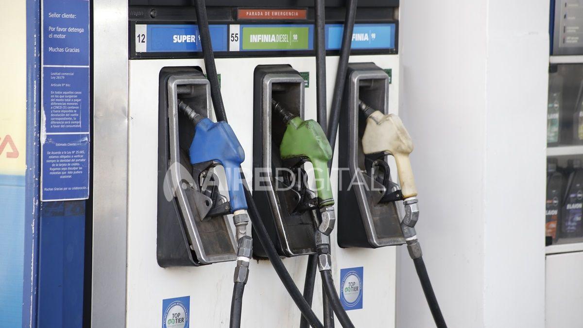 Los precios de los combustibles (naftas y gasoil) aumentarán desde este sábado un 6% en promedio