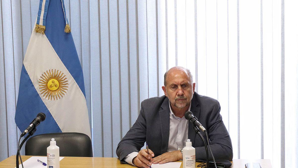 En horas del mediodía de este lunes se llevó a cabo una reunión entre el gobernador de la provincia