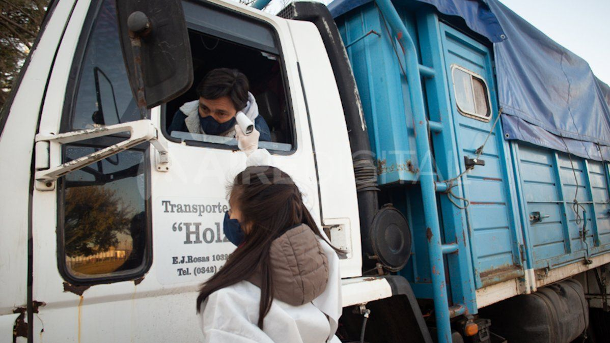 Operativo Detectar en el Mercado de Abastecedores de la ciudad de Santa Fe.
