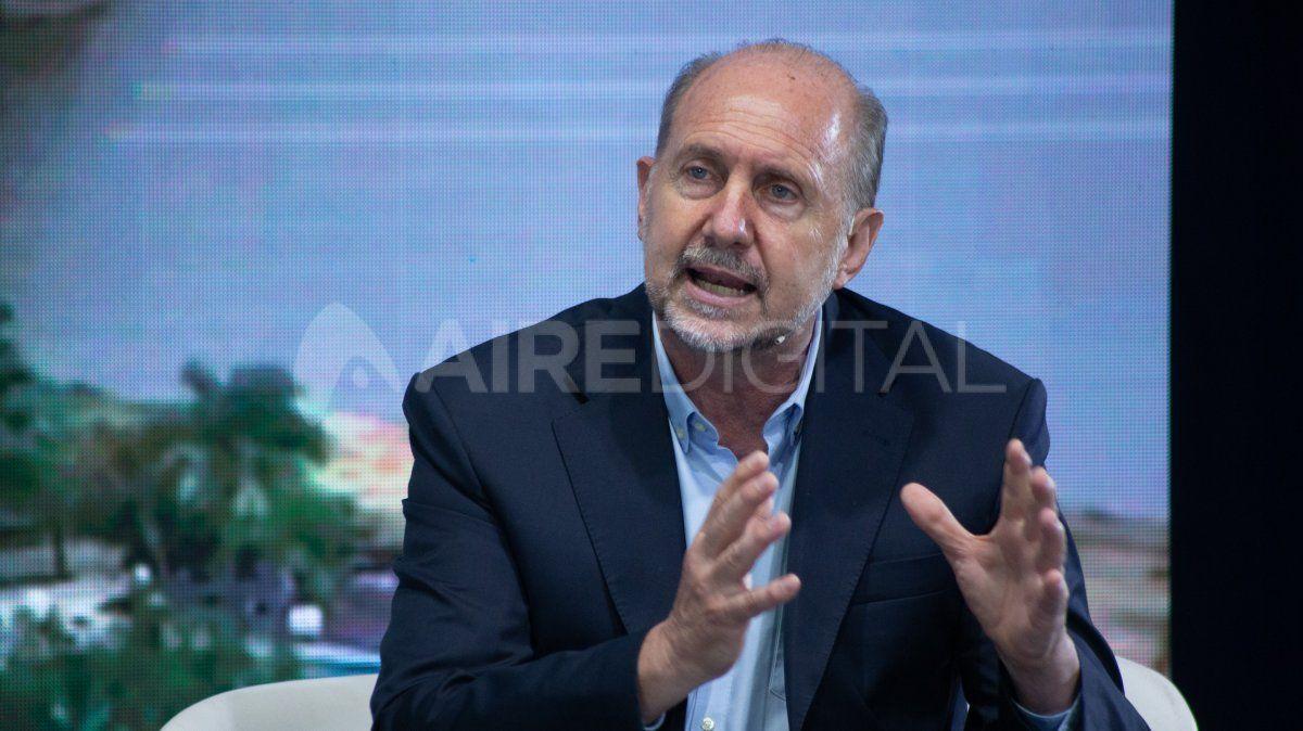 Omar Perotti habló en exclusiva con AIRE desde Buenos Aires.