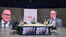 El ministro de Seguridad, Jorge Lagna, brindó detalles en torno a las negociaciones que se llevan adelante para acordar el horario del clásico santafesino.
