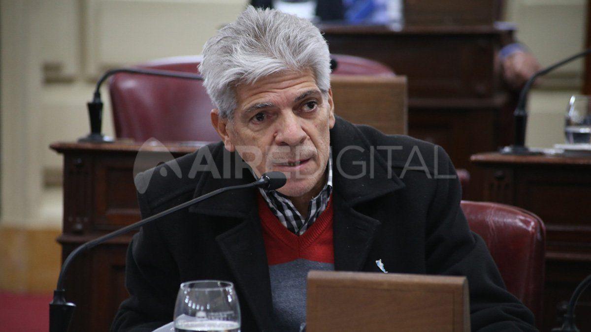 José Baucero, senador por el departamento San Javier, es uno de los que se opuso públicamente a la medida judicial de suspender la pesca en la provincia de Santa Fe hasta marzo de este año.