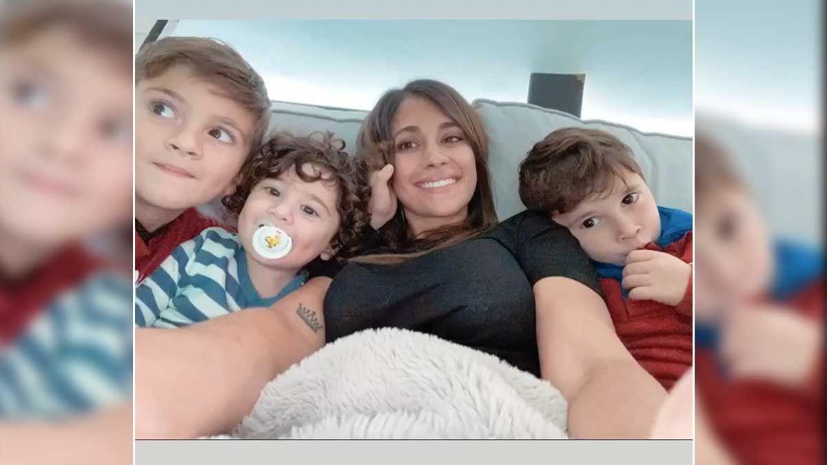 El increíble parecido de Antonela Rocuzzo con su hijo Ciro que sorprendió a todos