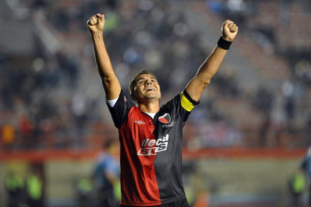 El Bichi Fuertes es el máximo goleador de la historia de Colón
