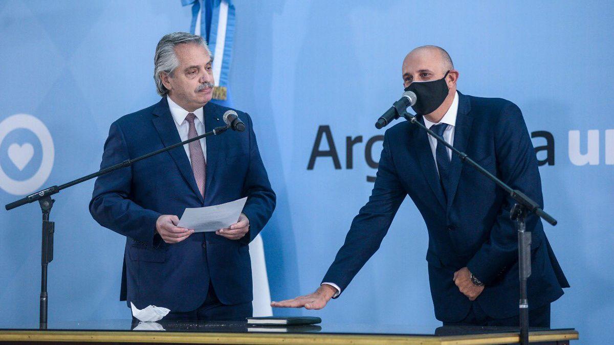 Alexis Guerrera asumió la titularidad del Ministerio de Transporte de la Nación en lugar del fallecido Mario Meoni.