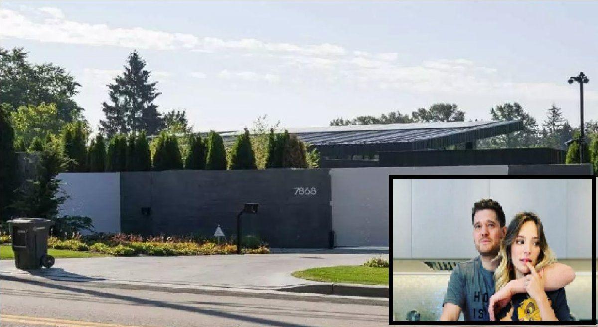 La increíble mansión de 22 millones de Luisana y Bublé que es furor en Canadá: cómo es por dentro