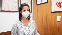 Lorena Esquivel vive en Santo Tomé y trabaja en Santa Fe. Ayer intentaron asaltarla con una tumbera cuando circulaba por el puente carretero a la altura de Varadero Sarsotti